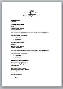 Clinical CV
