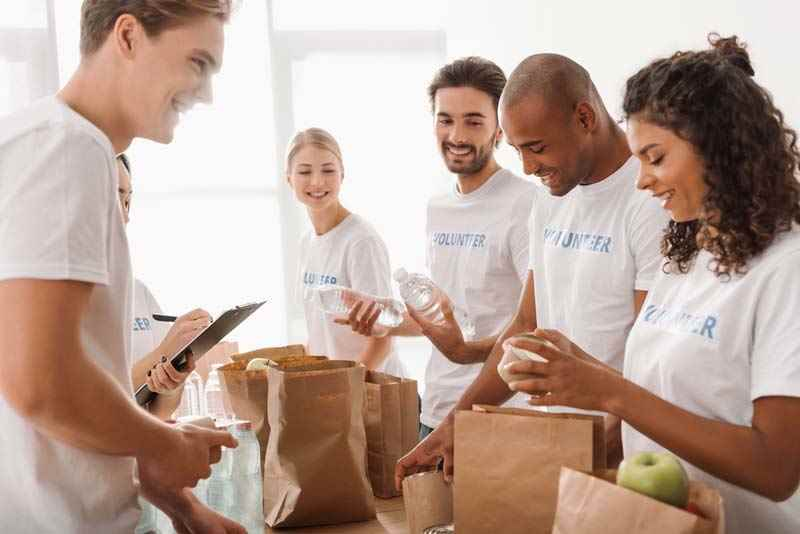 Volunteering after losing your job