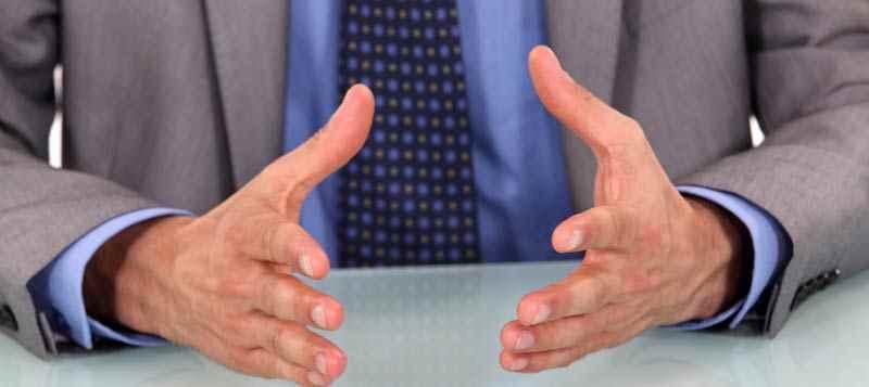 Hands body language