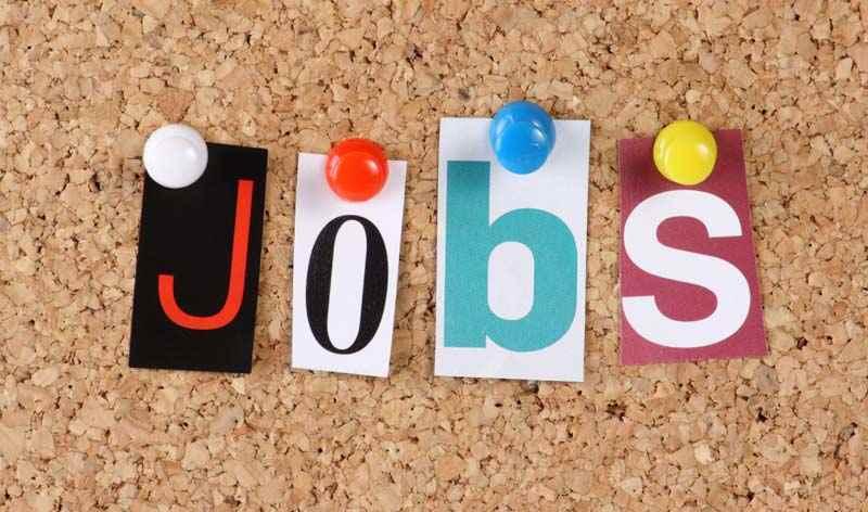 Jobs site pinboard concept