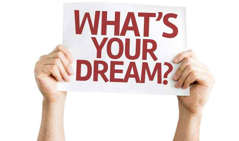 What's your dream career concept