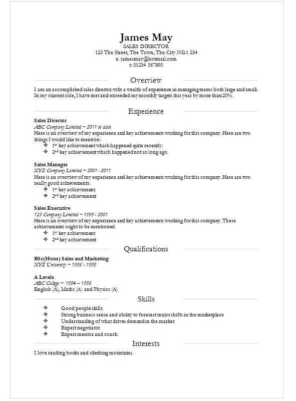 Smart division cv template in ms word how to write a cv for How to make a cv template on microsoft word