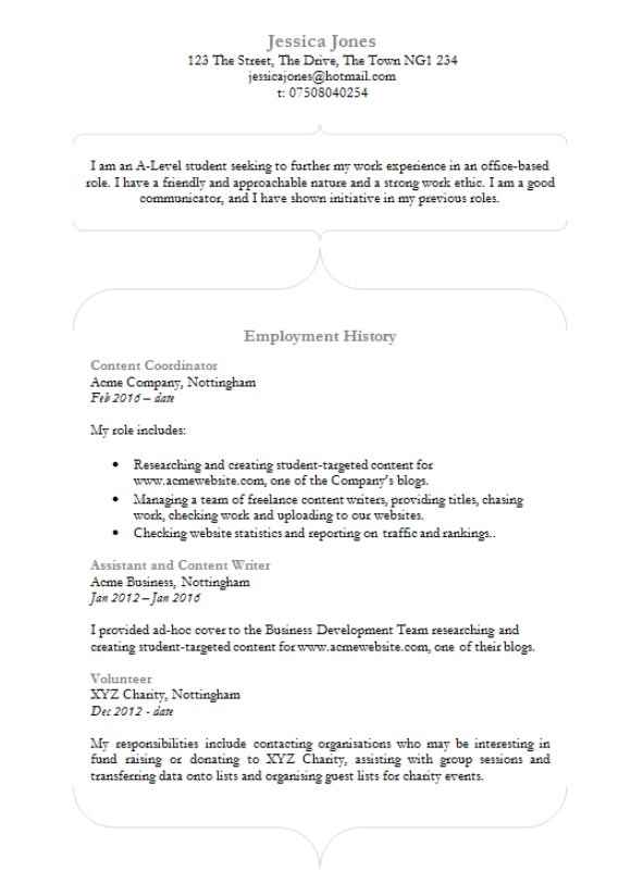 curvacious cv template in ms word cv template master