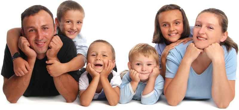 CV format - large family