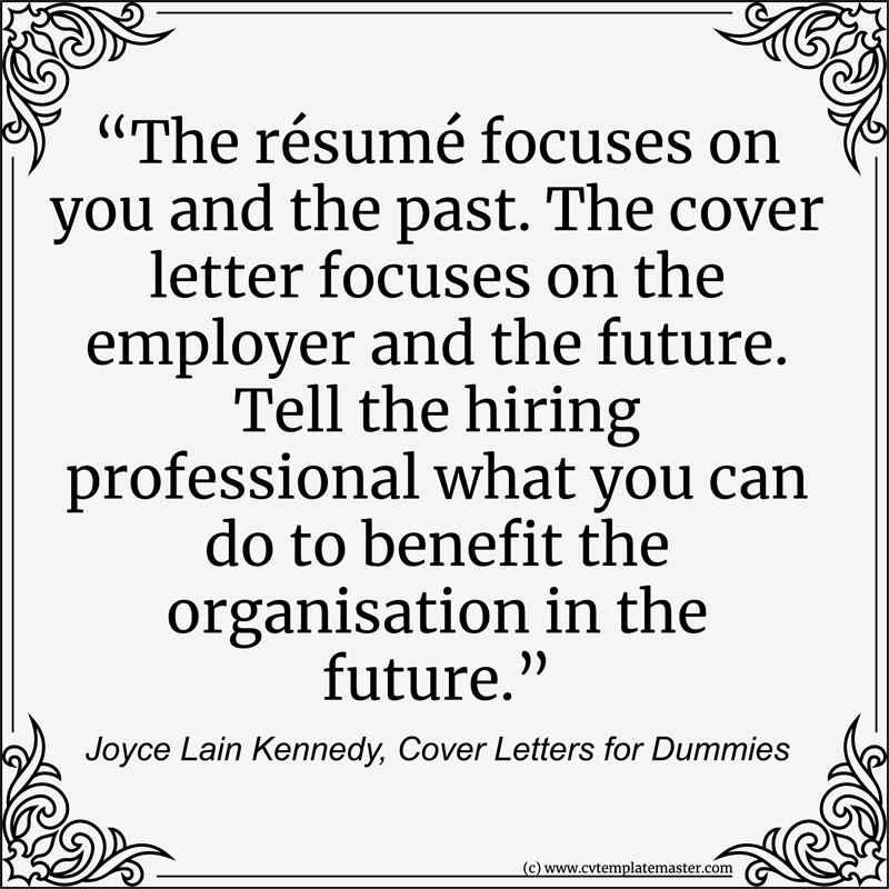 Resume quote