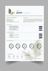 Take a Leaf CV template