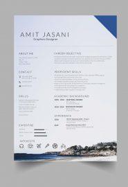 Coasting CV template