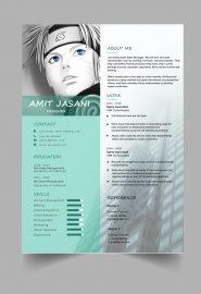 Manga CV template