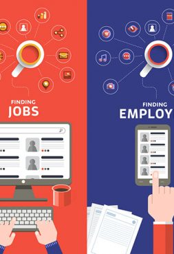 How important is social media when searching for a job?
