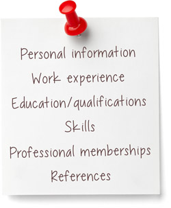 Job information sheet