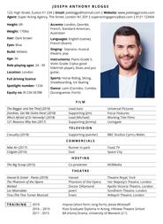 CV template: 213 free professional Microsoft Word CV