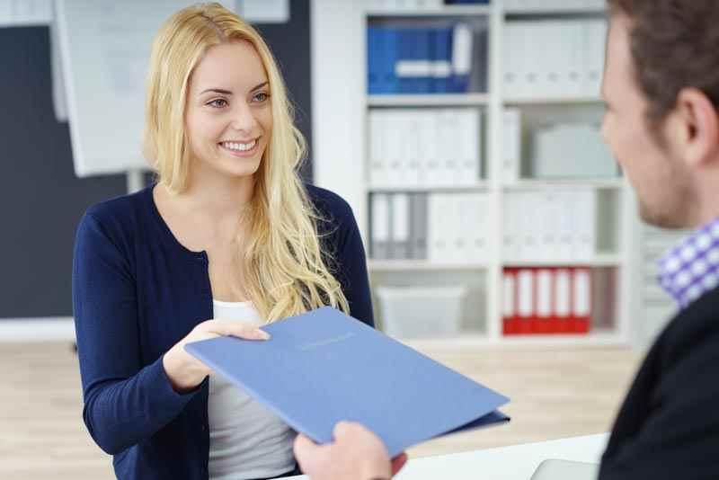 Handing over your CV
