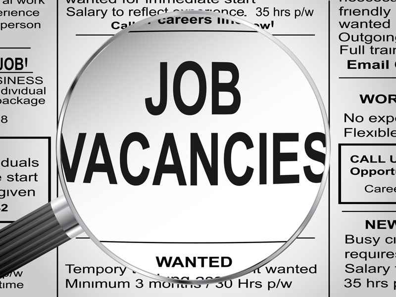 Job vacancies illustration
