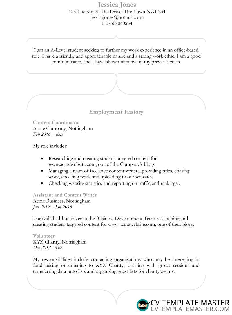 curvacious cv template in ms word