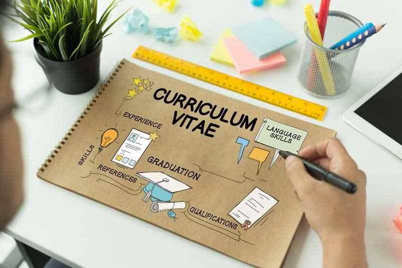 Management CV concept