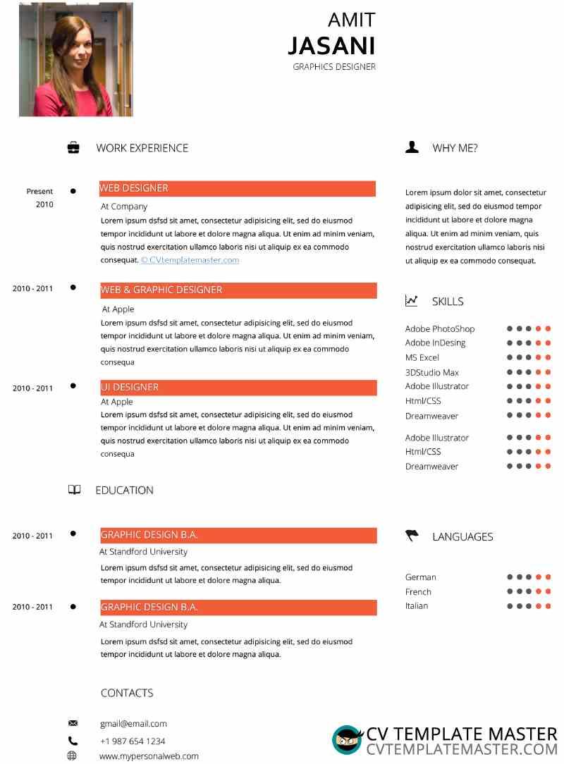 Peach CV
