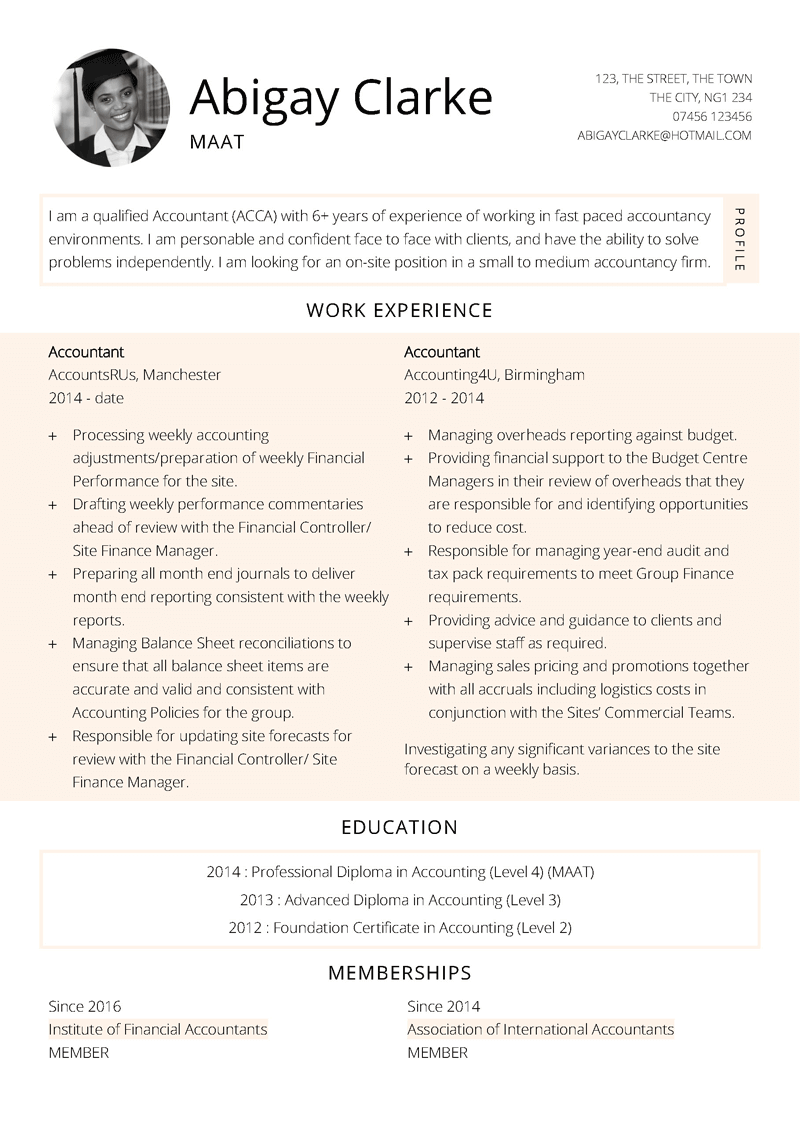 Free Flourish CV template in Microsoft Word format