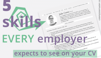 5 skills every employer expects to see on your CV