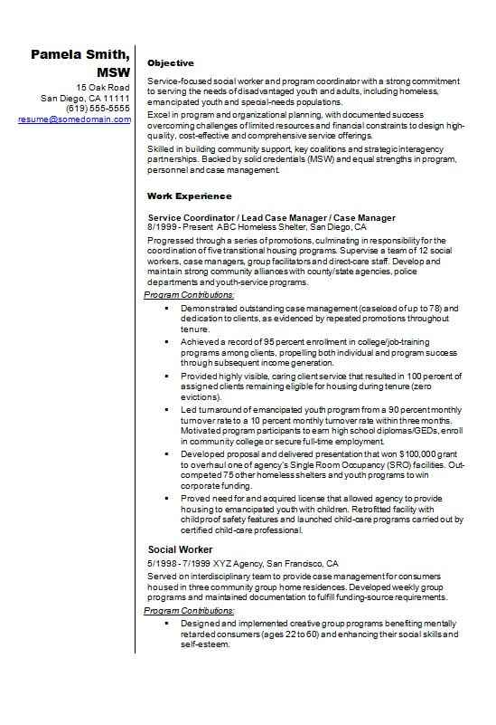 social-worker-resume-example Sample Curriculum Vitae Social Work on latest format, for accountant partner, fresh graduate, for chiropractors, offer letter, medical student, for administrative assistant, cover letter,